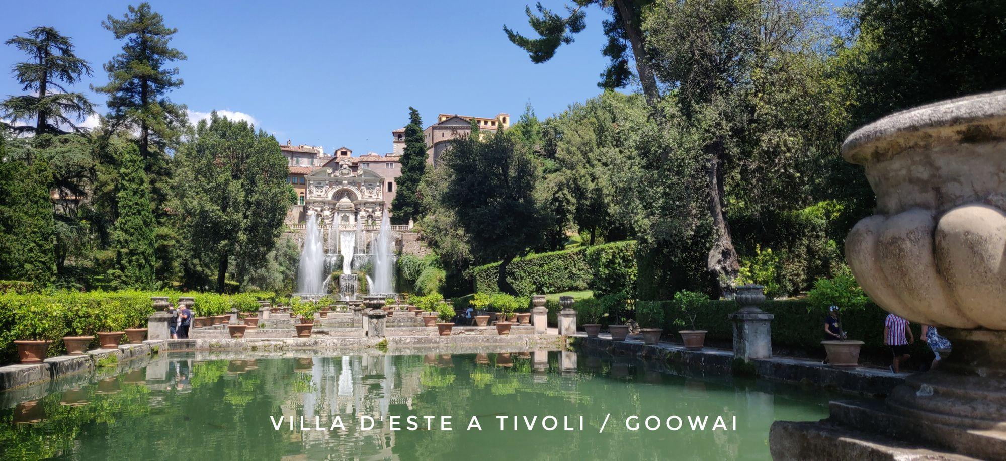 La villa d'Este a Tivoli le fontane